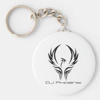 DJ Phoenix logo keychain