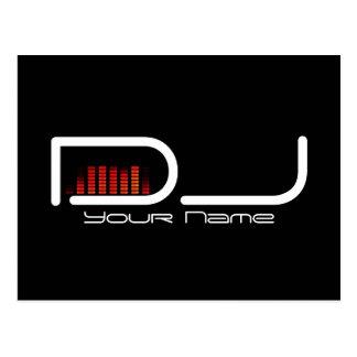 DJ Post Card