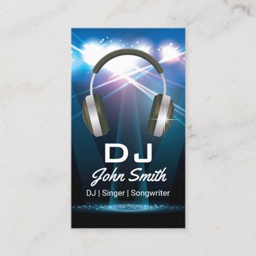 DJ Professional Business Card