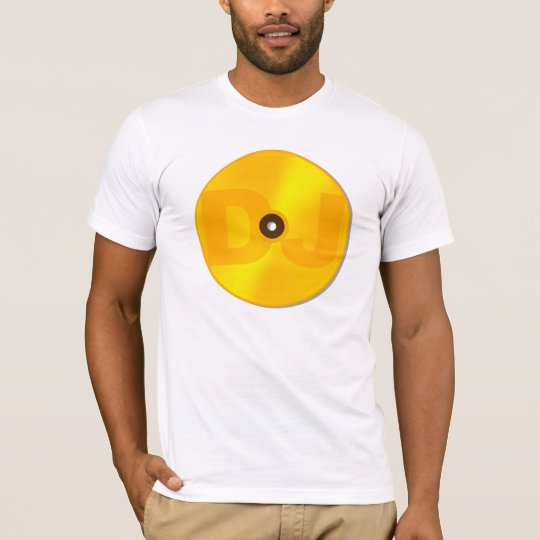 DJ Pure Gold Vinyl LP clubbing gear T-Shirt