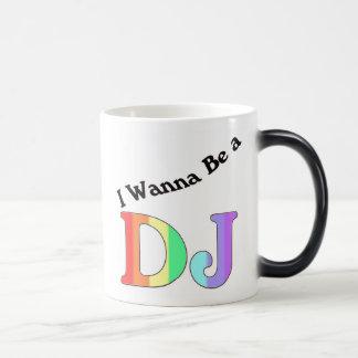 DJ quiere ser Taza Mágica
