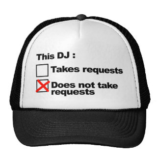 DJ Requests Trucker Hat