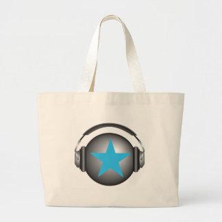 dj ricorox earth with headphones bag