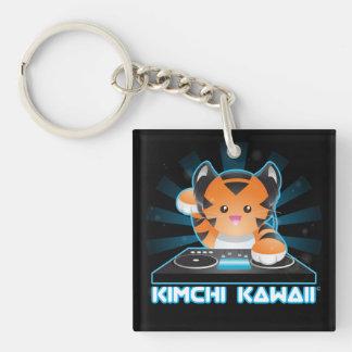 DJ Roary Single-Sided Square Acrylic Keychain