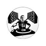 DJ ROUND CLOCK