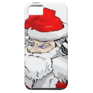 DJ Santa Claus Mixing The Christmas Party Track iPhone 5 Case