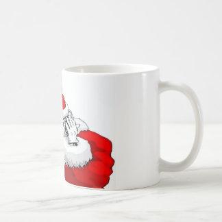 DJ Santa Claus Mixing The Christmas Party Track Coffee Mugs