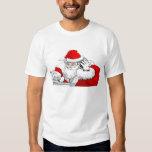 DJ Santa Claus Mixing The Christmas Party Track T-shirt