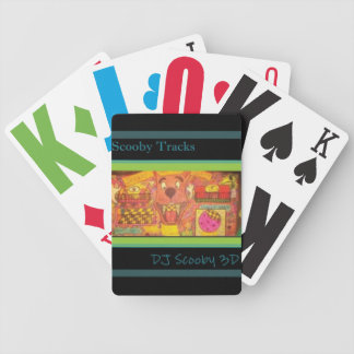 DJ Scooby 3D Gear Bicycle Playing Cards