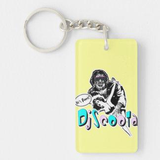 "Dj Scoota ""He's Back!"" Single-Sided Rectangular Acrylic Keychain"