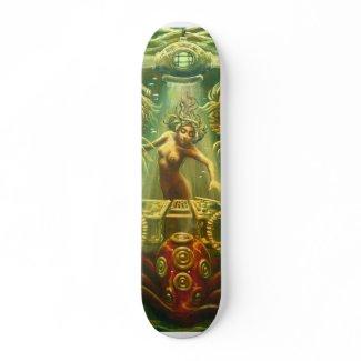 DJ Seahorse skateboard