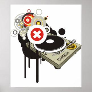 DJ Set Poster