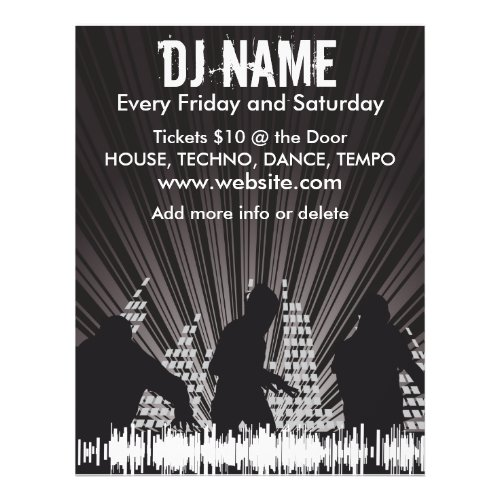 DJ Shadows 2 Music Flyer flyer