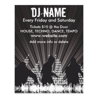 DJ Shadows 2 Music Flyer