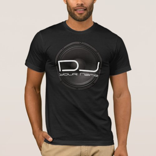 DJ SHIRT with Bass Background