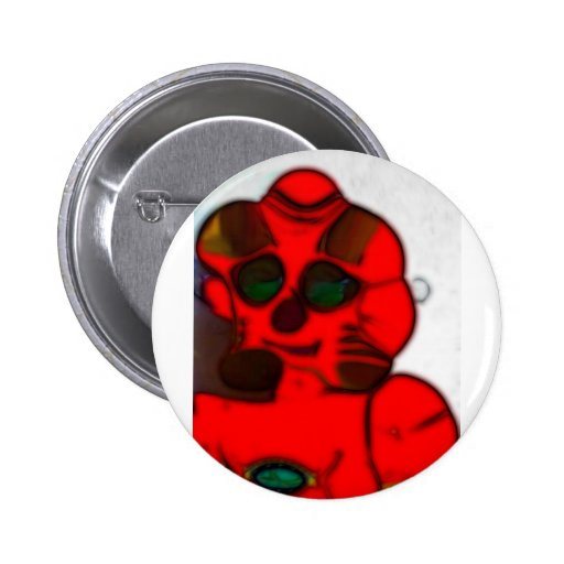 DJ.SK Deformed Robot w/o 2 Inch Round Button