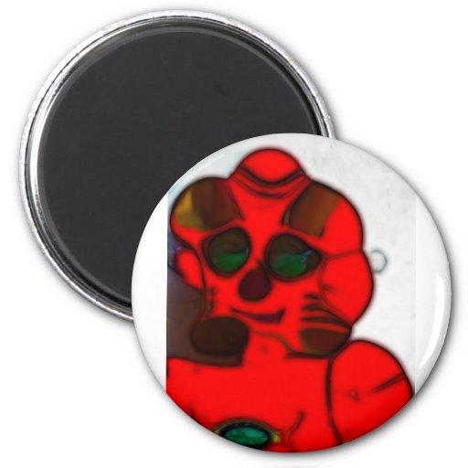 DJ.SK Deformed Robot w/o 2 Inch Round Magnet