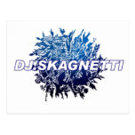 DJ.Skagnetti Blueworld Postales