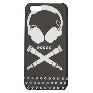 DJ Skull iPhone 5C Cases