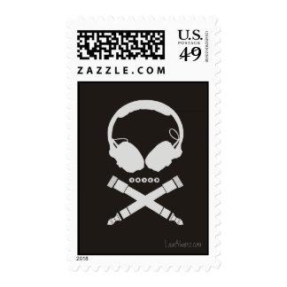 Dj Skull Stamps