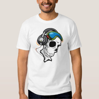 DJ Skull Tee Shirt