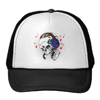 DJ Skull Trucker Hat