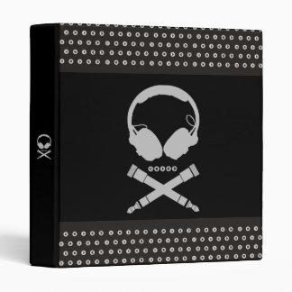 Dj Skull Vinyl Binder