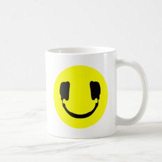 DJ smiley Coffee Mug