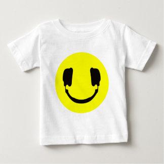 DJ smiley Infant T-shirt