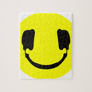 DJ smiley Jigsaw Puzzle