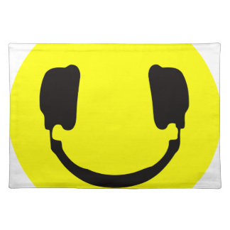 DJ smiley Placemats