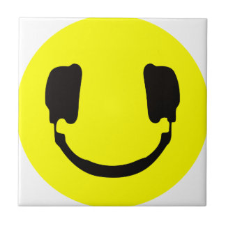 DJ smiley Tile