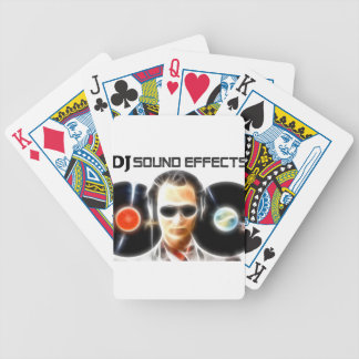DJ Sound Effects Bicycle Playing Cards
