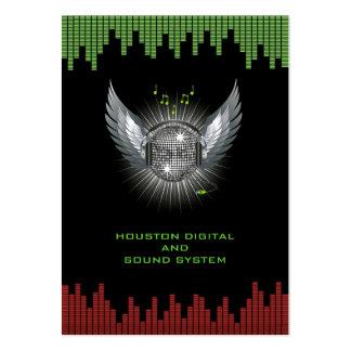 DJ Sound System Chubby Business Card