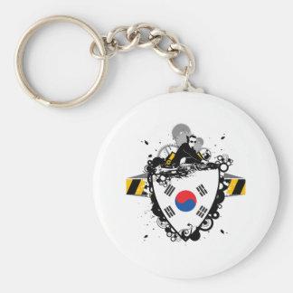 DJ South Korea Keychain