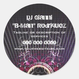 DJ Speaker Rays Promotional Sticker