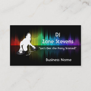 dj business cards 1400 dj business card templates