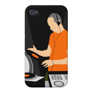 DJ Spinning Vinyl iPhone 4/4S Covers
