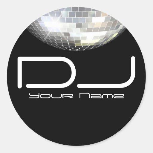 DJ Sticker
