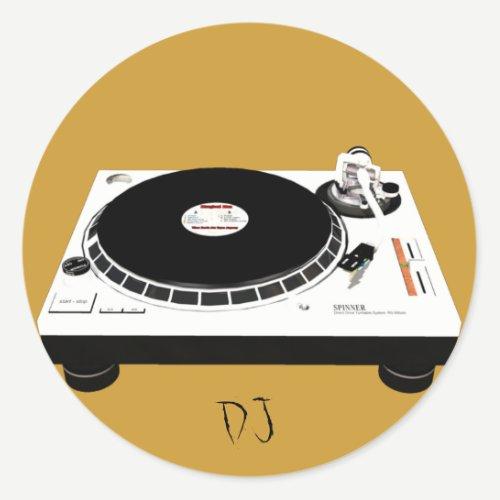 DJ stickers
