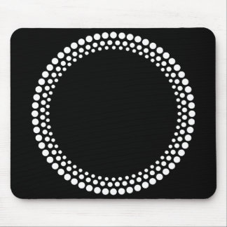 DJ Strobe Pattern Mouse Pad