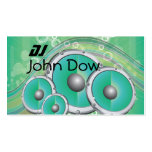 DJ Style Double-Sided Standard Business Cards (Pack Of 100)