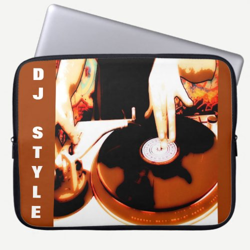DJ Style Laptop Sleeve