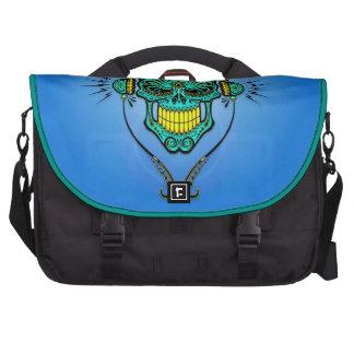 DJ Sugar Skull, blue Bag For Laptop