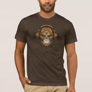 DJ Sugar Skull (brown) T-Shirt