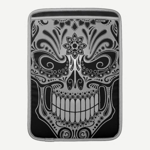 DJ Sugar Skull, dark MacBook Air Sleeve
