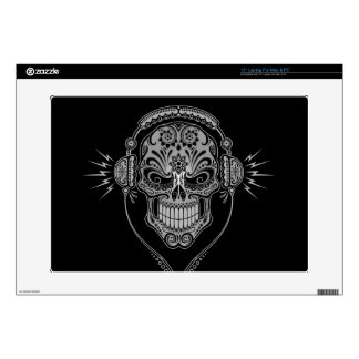 "DJ Sugar Skull, dark Skins For 15"" Laptops"
