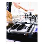 DJ SYSTEM FULL COLOR FLYER