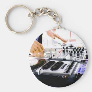 DJ System Keychain