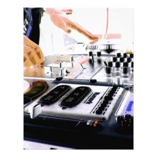DJ SYSTEM LETTERHEAD
